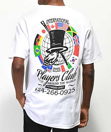 Open925 Players Club White T-Shirt
