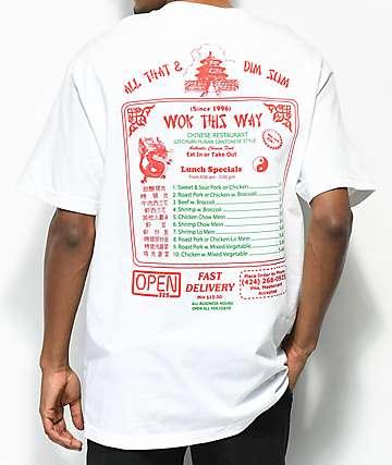 Open925 Wok This Way camiseta blanca
