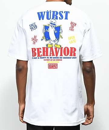 Open925 Wurst camiseta blanca