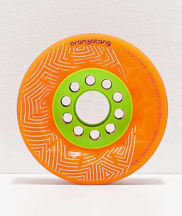 Orangatang Caguama 85mm 80a ruedas de skate naranjas