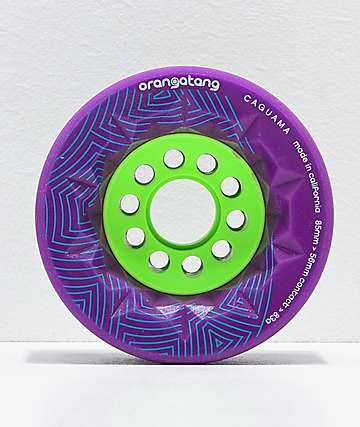 Orangatang Caguama 85mm 83a Purple Longboard Wheels