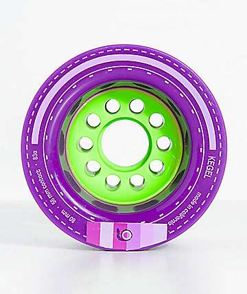 Orangatang Kegel 80mm 83a Purple Longboard Wheels