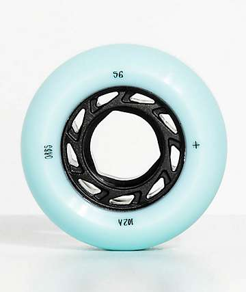 Orbs Ghost Lites 56mm Blue Skateboard Wheels