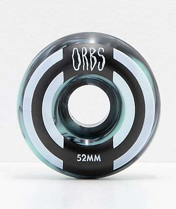 Orbs Wheels Apparitions Swirl 52mm 99a Skateboard Wheels