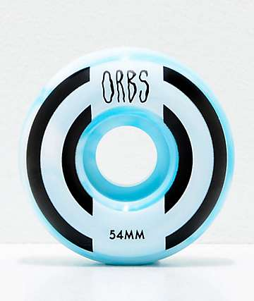 Orbs Wheels Apparitions Swirl 54mm 99a Skateboard Wheels