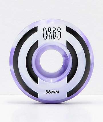 Orbs Wheels Apparitions Swirl 56mm 99a Skateboard Wheels