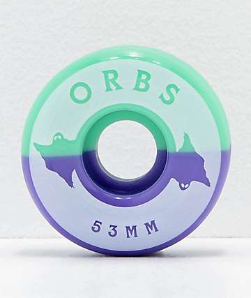 Orbs Wheels Specters Split 53mm Skateboard Wheels