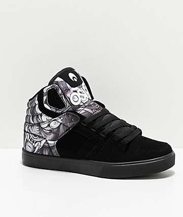 Osiris Clone Huit Mask Black & White Skate Shoes