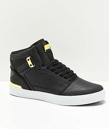 Osiris Cultur zapatos de skate en negro y oro