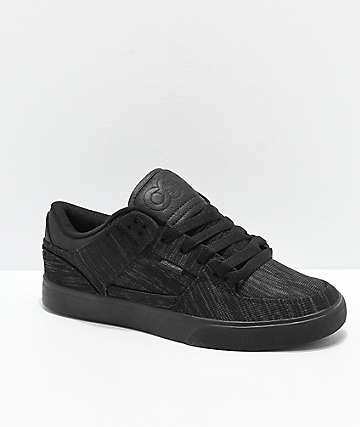 Osiris Protocol zapatos de skate de punto negro