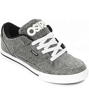 Osiris Protocol zapatos de skate en gris y blanco