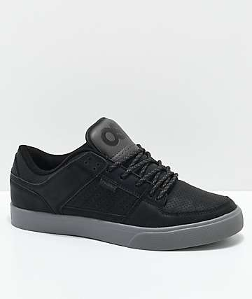 Osiris Protocol zapatos de skate negros y grises
