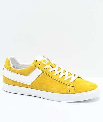 PONY x Joey Bada$$ Topstar Lo Pro Era Yellow Shoes