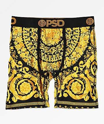 PSD Gold Sace II calzoncillos boxer en negro