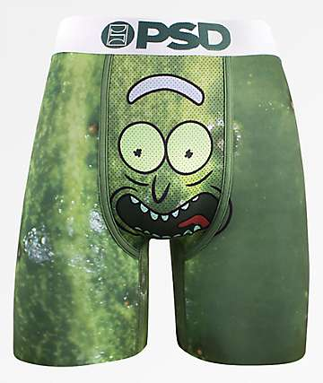 58d72df7d446f PSD x Rick And Morty Pickle Rick Boxer Briefs