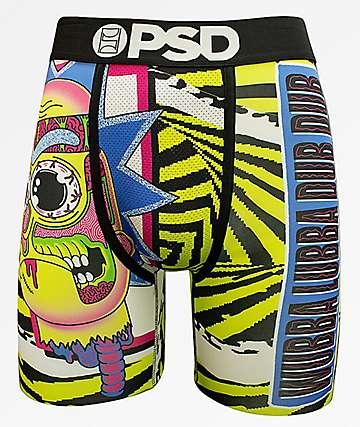 PSD x Rick And Morty Wubba Lubba calzoncillos boxer