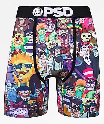 PSD x Rick and Morty Mash Up II calzoncillos boxer