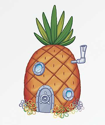 PSD x SpongeBob Pineapple House Sticker