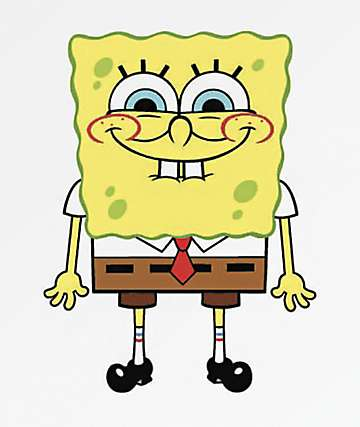 PSD x SpongeBob Sponge Smile Sticker