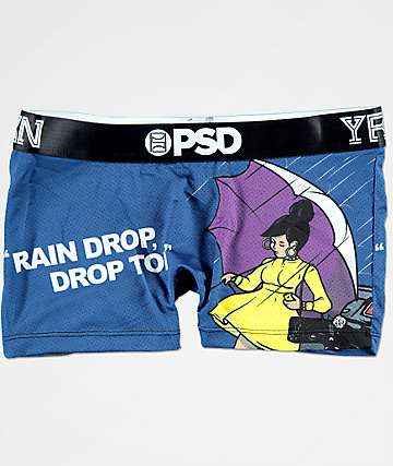 PSD x YRN Raindrop Blue Shorties