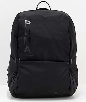 PUMA Ace mochila negra