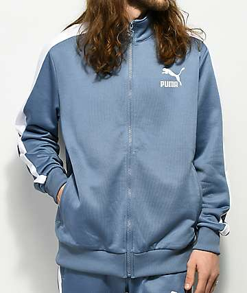 PUMA Archive T7 Infinity Blue Track Jacket