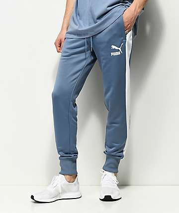 PUMA Archive T7 Infinity Blue Track Pants