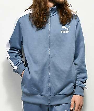 PUMA Archive T7 Infinity chaqueta de chándal en azul