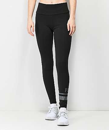 PUMA Athletic Logo leggings negros