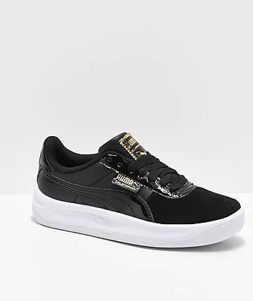PUMA California Monochrome Black Shoes