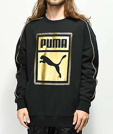PUMA Chains Crew Neck Sweatshirt
