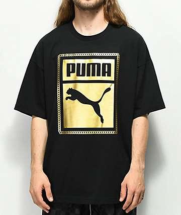 PUMA Chains camiseta negra