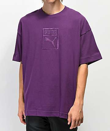 PUMA Downtown Purple T-Shirt
