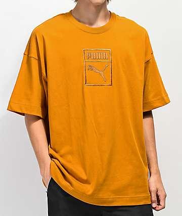 PUMA Downtown camiseta dorada