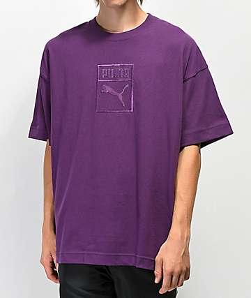 PUMA Downtown camiseta morada