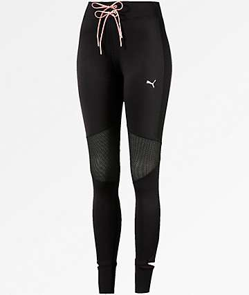 PUMA En Pointe Black Leggings