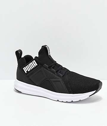 2c62831610a0 PUMA Enzo Black   White Shoes