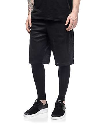 PUMA Evo Layered Black Shorts