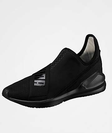 PUMA Fierce Black Slip-On Shoes