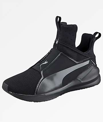 PUMA Fierce Core Noir Black Shoes
