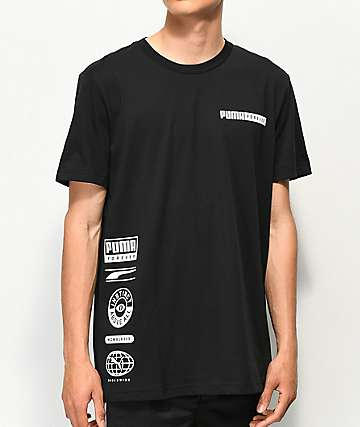 PUMA Instinct Black T-Shirt