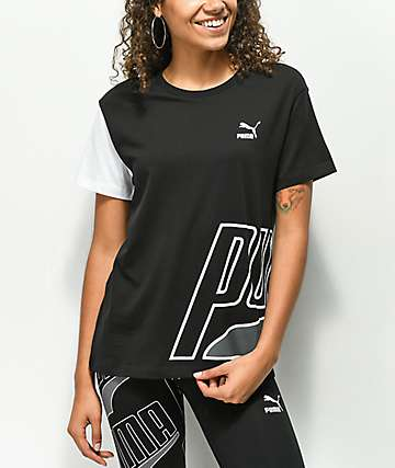PUMA Loud Black T-Shirt