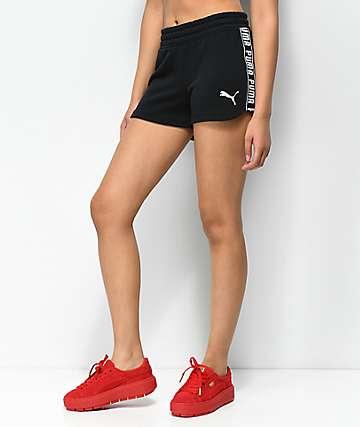 PUMA Spark shorts negros