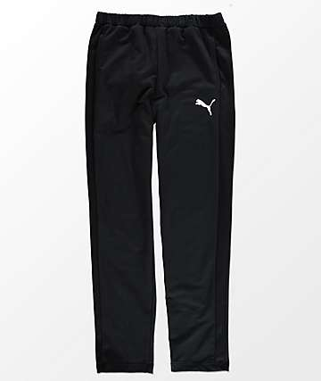 PUMA Stretch Lite Black Track Pants