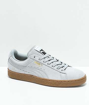 PUMA Suede Classic+ Quarry zapatos en gris y goma
