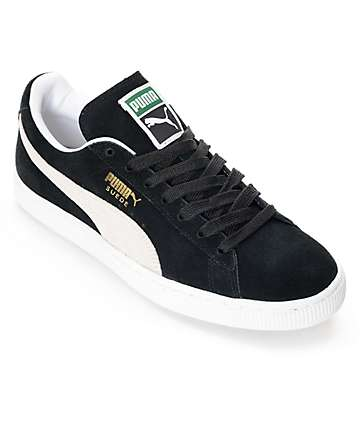 d1547743a18 PUMA Suede Classic + Black Shoes