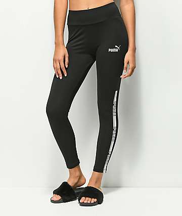PUMA Tape Black Leggings
