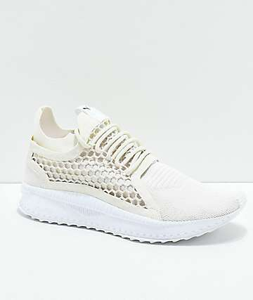 PUMA Tsugi Netfit V2 White Shoes