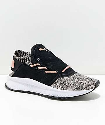 PUMA Tsugi Shinsei Black & Whisper White Shoes