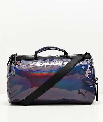 PUMA Uppercut Iridescent & Black Duffle Bag